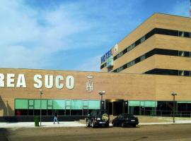 Hotel Área Suco, Кинтана-дель-Пуэнте (рядом с городом Торкемада)