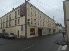 Hotel Restaurant Saint Louis, Шатодён (рядом с городом Фласе)