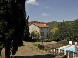 La maison de maître, Cascastel-des-Corbières (рядом с городом Villeneuve-les-Corbières)