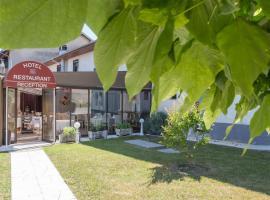 Hotel Restaurant Laurent Perreal, Attignat (рядом с городом Malafretaz)