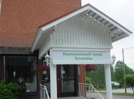 Huoneistohotelli Teekki, Муурувеси (рядом с городом Pelonniemi)
