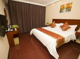 GreenTree Inn Shandong TaiAn Yingchun Road Dai Temple Express Hotel, Tai'an (Yanjiazhuang yakınında)
