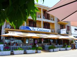 Hôtel & Restaurant Le Continental, Каржез