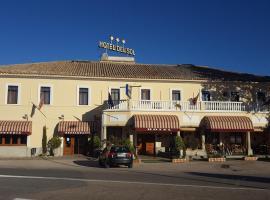 Hotel del Sol, Motilla del Palancar (рядом с городом Valhermoso de la Fuente)