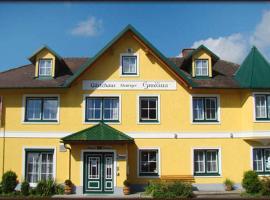 Neues Gästehaus und Hotel-Pension zum Gmoana, Sankt Valentin (Au an der Donau yakınında)