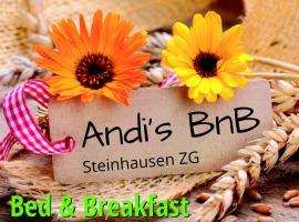 Andi's BnB, Zug (Knonau yakınında)