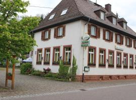 Altes Schulhaus, Niederschlettenbach (Rumbach yakınında)