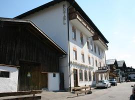 Hotel garni Almenrausch und Edelweiss