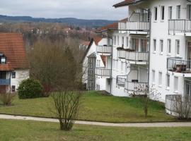 Ferienwohnungen an der Therme, Bad Rodach (Straufhain yakınında)