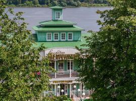 Отель на воде Волжская Жемчужина, Ярославль