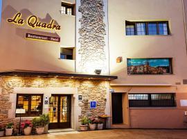 Hotel-Restaurante La Quadra, Maçanet de Cabrenys (рядом с городом Las Illas)