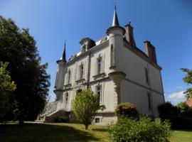 Le Castel d'Ahun, Ahun (рядом с городом Jarnages)