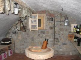 Albergo Coira, Santa Brigida