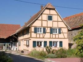 Gite du Marché d'Elsa, Kilstett (рядом с городом Weyersheim)