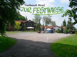 Motel Zur Festwiese, Gierstädt (Bienstädt yakınında)