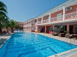 Angelina Hotel & Apartments, Сидарион (рядом с городом Melíssia)