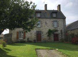 L'ancien Presbytère d'Ardevon, Понторсон (рядом с городом Huisnes-sur-Mer)