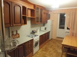 Apartment on Aktyubinskaya 11, Mogilev (Bol'shoy Nezhkov yakınında)