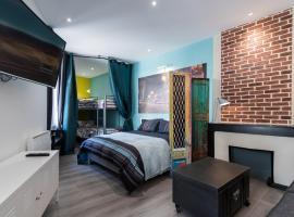 Appartement Gutenberg - Saint Etienne City Room, Сент-Этьен (рядом с городом Ла-Рикамари)