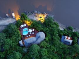 Serena Mivumo River Lodge, Mkalinzu