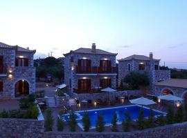 Liokrina Luxury Villas, Корони (рядом с городом Armenoí)