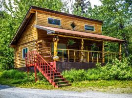 Midnight Sun Log Cabins, Moose Pass