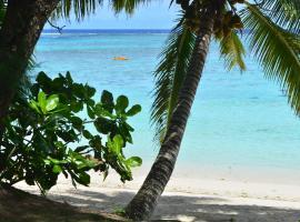 Natura Beach Bungalow, Rarotonga (Vaimaanga yakınında)