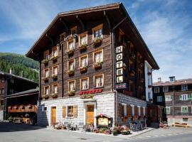 Hotel Nufenen, Ulrichen (Obergesteln yakınında)