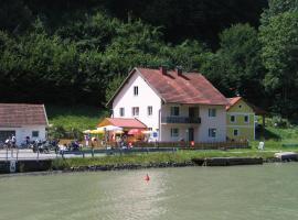Idylle am Donauufer, Haibach ob der Donau (Untermühl yakınında)