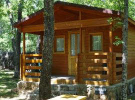 Camping Las Cavenes, El Cabaco (Aldeanueva de la Sierra yakınında)