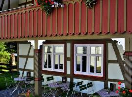 Café im Hof, Streufdorf (Straufhain yakınında)