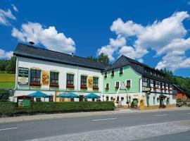 Hotel Gasthof zum Walfisch, Zwota (Klingenthal yakınında)