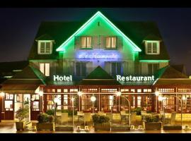 Hôtel-Restaurant Le Normandie, Уистреам (рядом с городом Sallenelles)