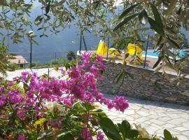 Casa vacanze Bella Vista, Testana (Uscio yakınında)