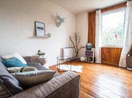 Appartement entier au calme, Espalion (рядом с городом Saint-Côme-d'Olt)