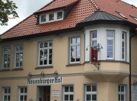 Hotel Neuenburger Hof, Neuenburg