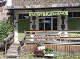 Tääksi Guest House, Tääksi (Eistvere yakınında)