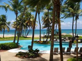 Beachfront Villa in the Rio Mar Resort, Rio Grande