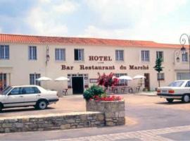 Hôtel du Marché, Beauvoir-sur-Mer (рядом с городом Сен-Жерве)