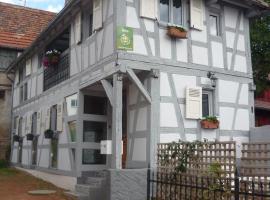 gîte de charme proximité de Strasbourg, Olwisheim (рядом с городом Eckwersheim)