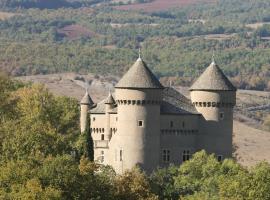 Chateau de Lugagnac, Rivière-sur-Tarn (рядом с городом La Cresse)