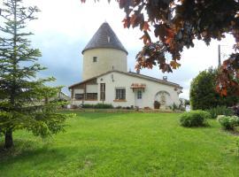 Le moulin à Vent, Courrensan (рядом с городом Gondrin)