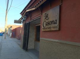Hotel La Casona, Copiapó (Piedra Colgada yakınında)