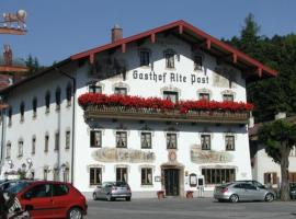 Hotel Alte Post, Siegsdorf