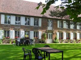Chambres d'hôtes Manoir du Buquet, Онфлер (рядом с городом Гонвиль-сюр-Онфлёр)