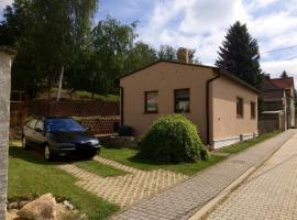 Ferienhaus Obschütz, Weißenfels (Pettstädt yakınında)