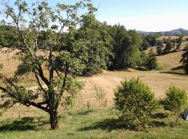 La Forêt du Burg, Saint-Cyr-la-Roche (рядом с городом Voutezac)