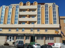 Hotel Cabañas, Пуэртольяно (рядом с городом Инохосас-де-Калатрава)