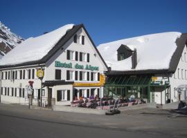Hotel des Alpes, Realp