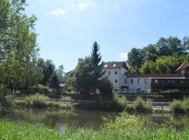 Pension Gasthaus zum Pegel, Naumburg (Wethau yakınında)